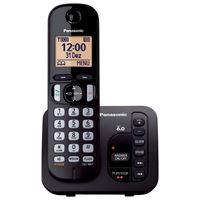 Imagem de TELEFONE S/FIO DECT6.0 PANASONIC KX-TGC220LBB 110/220V PT