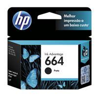 Imagem de CARTUCHO DE TINTA HP F6V29AB (664) PRETO TF