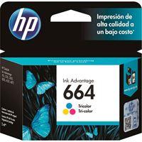Imagem de CARTUCHO DE TINTA HP F6V28AB (664) TRICOLOR