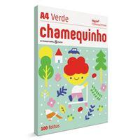Imagem de CHAMEQUINHO VERDE  A4 75G C/25 100F 210X297 VD - TRANSF